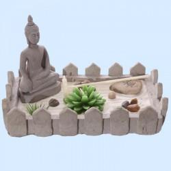 Jardin Zen du Bouddha (rectangulaire)