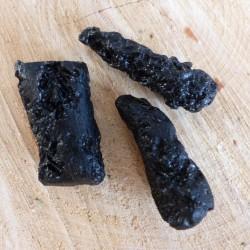 Tectite noire ~ Élévation