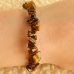 Bracelet Oeil de tigre ~ Confiance en soi