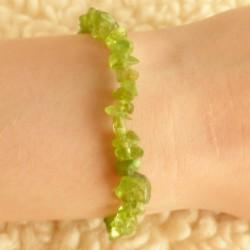 Bracelet Péridot ~ Noblesse