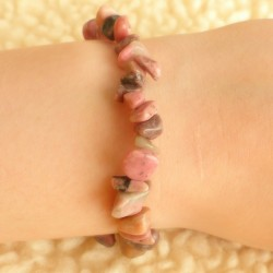 Bracelet Rhodonite ~ Empathie