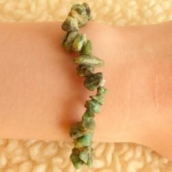 """Bracelet Jaspe """"Turquoise"""" (Afrique) ~ Ancrage émotionnel"""