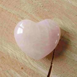 Coeur de Quartz rose (6cm) ~ Douceur