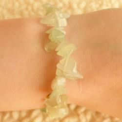 Bracelet Jade néphrite ~ Respect de soi