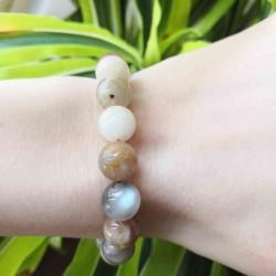 Bracelet Pierre de lune ~ Médiumnité