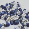 Petit pendentif de Saphir bleu cristallisé – Mystère