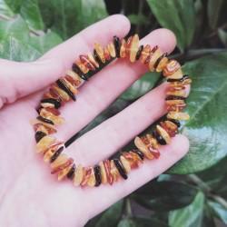 Bracelet Ambre multicolore ~ Chaleur