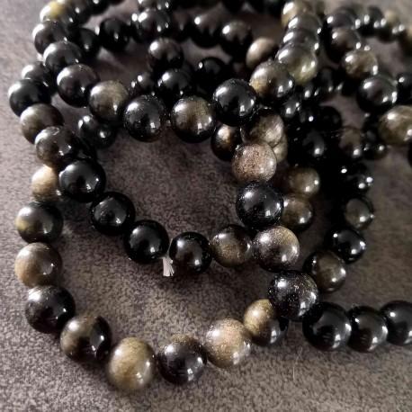 Obsidienne argentée ~ Inconscient