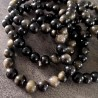 Bracelet d'Obsidienne dorée ~ Révélation de soi