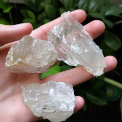 Cristal de roche brut ~ Elevation