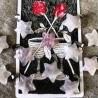 Pendentif étoile de Quartz rose~ Douceur