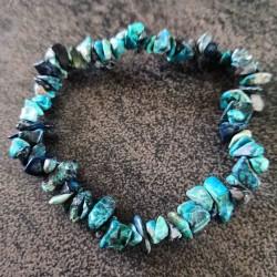 Bracelet Chrysocolle ~ Sagesse