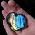 Coeur de Labradorite ~ Protection douce